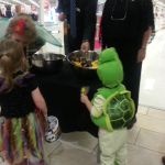 Trick or treat at the mall